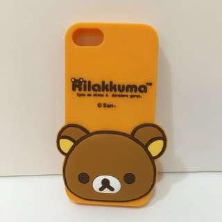 二手iPhone5懶懶熊手機殼~iPhone 5S/SE可共用喔~