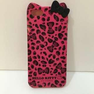 二手iPhone5 Kitty手機殼~iPhone 5S/SE可共用喔~