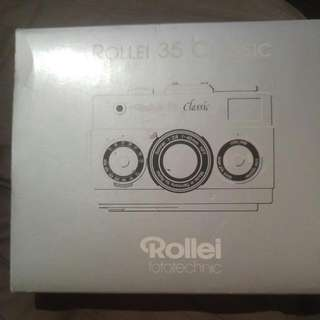 Rollei 35 Classic With Sonnar Lens. Collectible