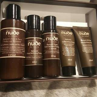 Nude By Nature Skin Care Collection