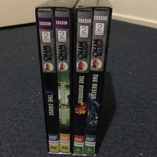 Original Doctor Who DVDs