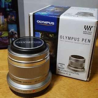 Olympus M.Zuiko 45mm F1. 8