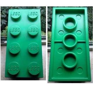 Lego Green Big 2 x 4 Brick