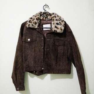 jacket kulit bulu
