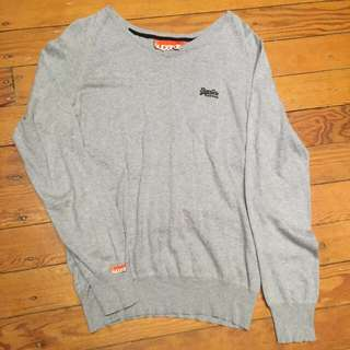 superdry knit jumper