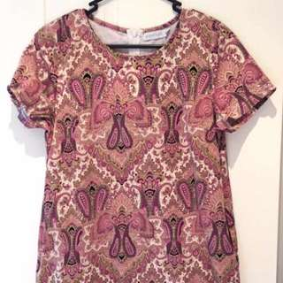 Pink Pattern Dress