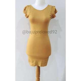 Baju Atasan Blouse Mini Dress Muslim Hijab Preloved Bekas Second