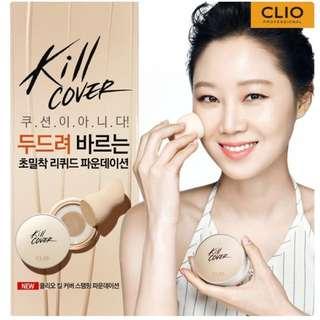 Clio蓋章粉底液