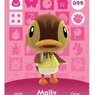 Looking For Molly Amiibo Card For Animal Crossing Happy Home Designer