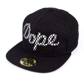 BN Dope Snapback Cap Net Black Original Authentic