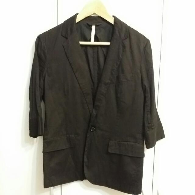 +-×÷夏季5分袖 薄款西裝外套 2%