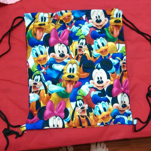 迪士尼束口袋