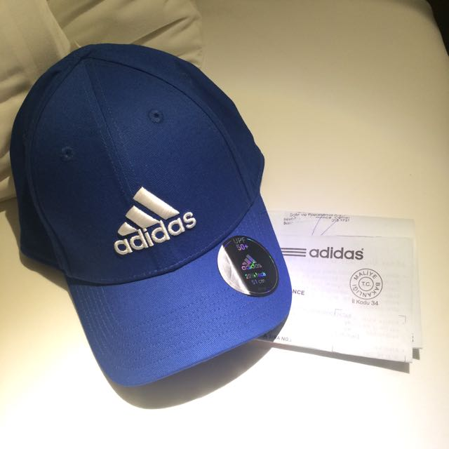 正品 Adidas 老帽 深藍
