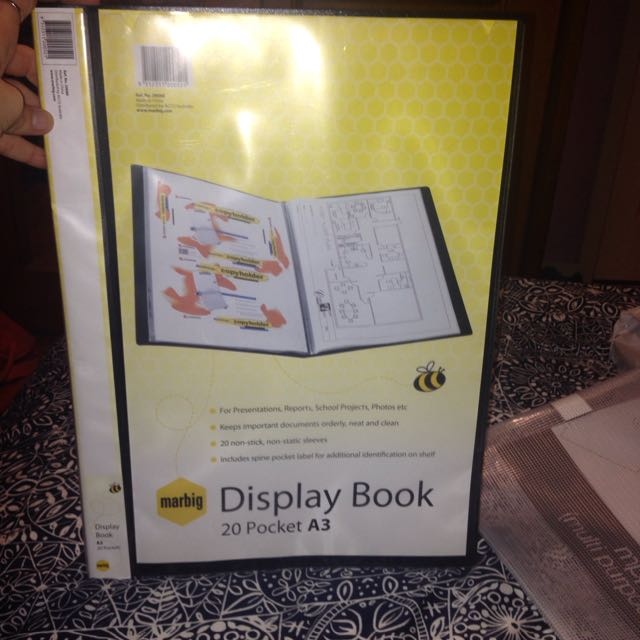 A3 Display Book