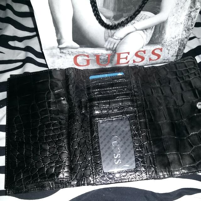 Authentic Guess Wallet.