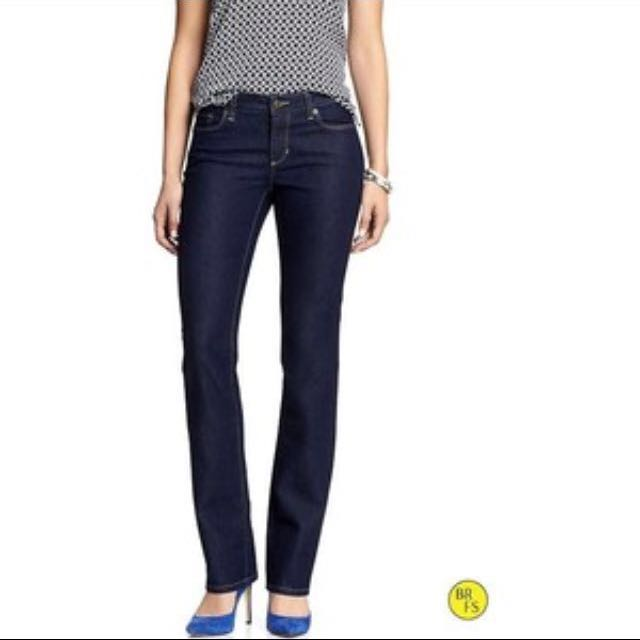 Banana Republic Straight Cut Jeans
