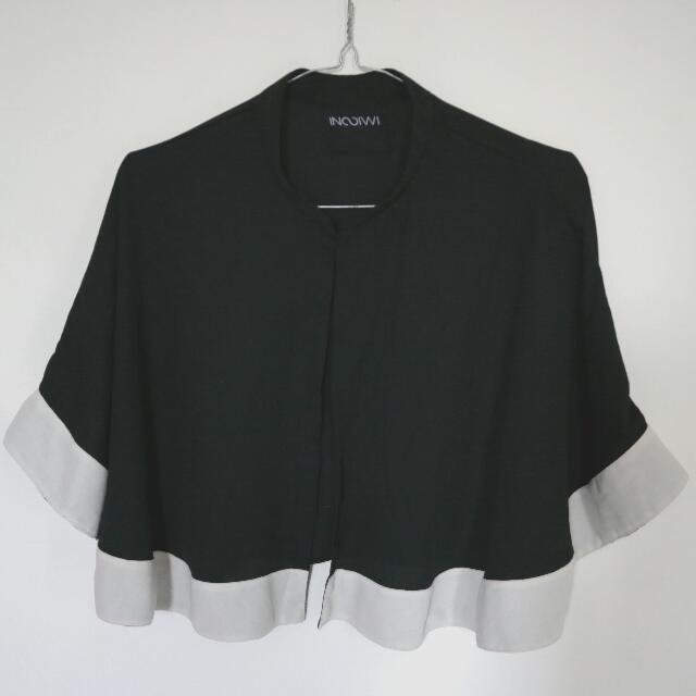 Batwing Outer Black & White