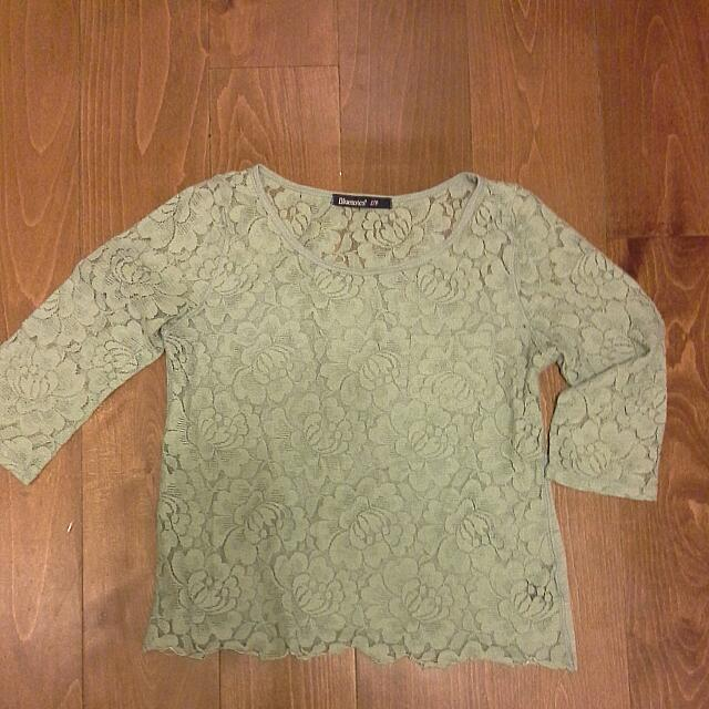 Bluenotes Lace Top