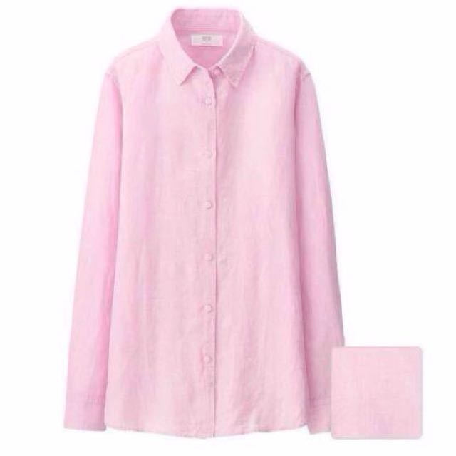 BNWT Pink Long Sleeve Button Down