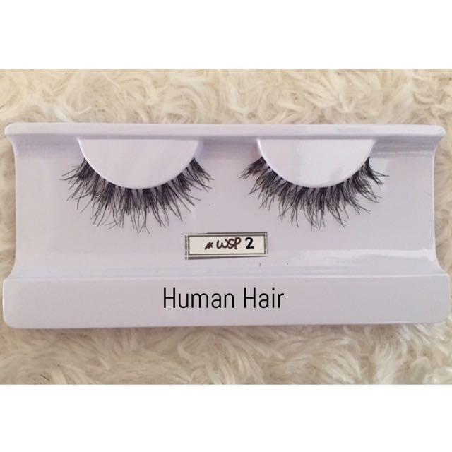 Bulu Mata Palsu / Human Hair Lashes