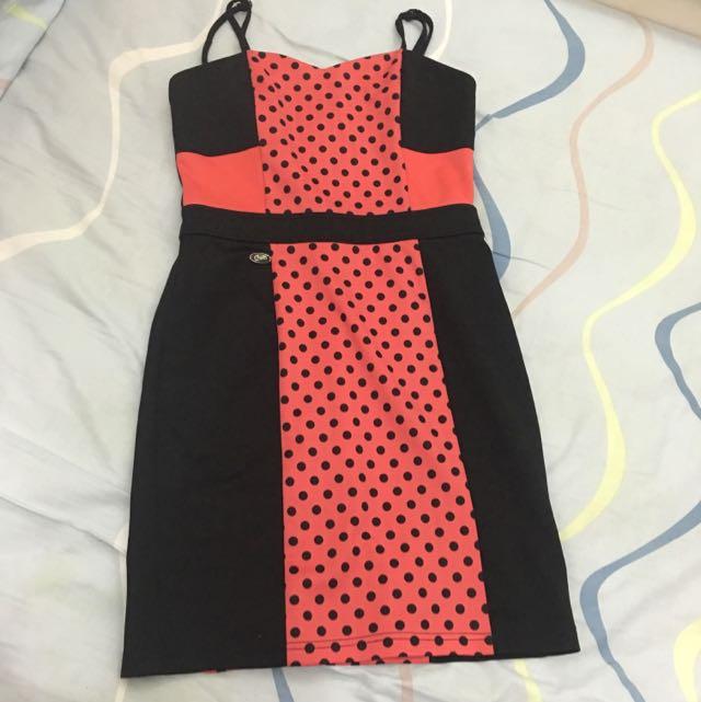 Candie's Polka Dots Dress