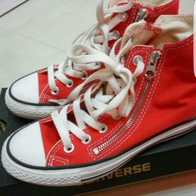 Converse All Star Double Zip Hi Varsity