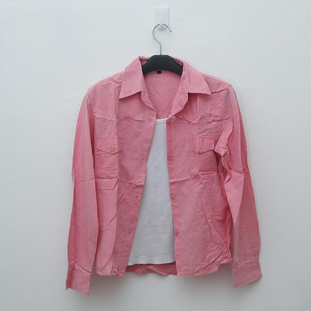Cotton Pink Shirt