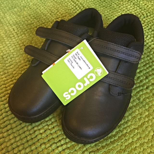 Crocs Uniform Leather Shoes