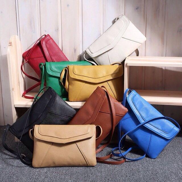 ENVELOPE BAG / MESSENGER BAG / VINTAGE BAG