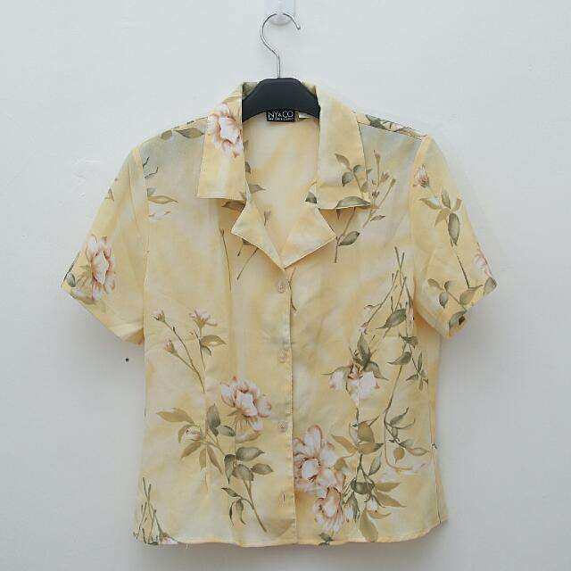 Floral Vintage Top