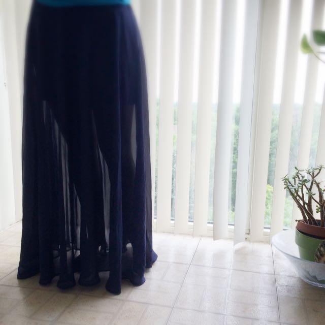 Forever 21 Long Skirt
