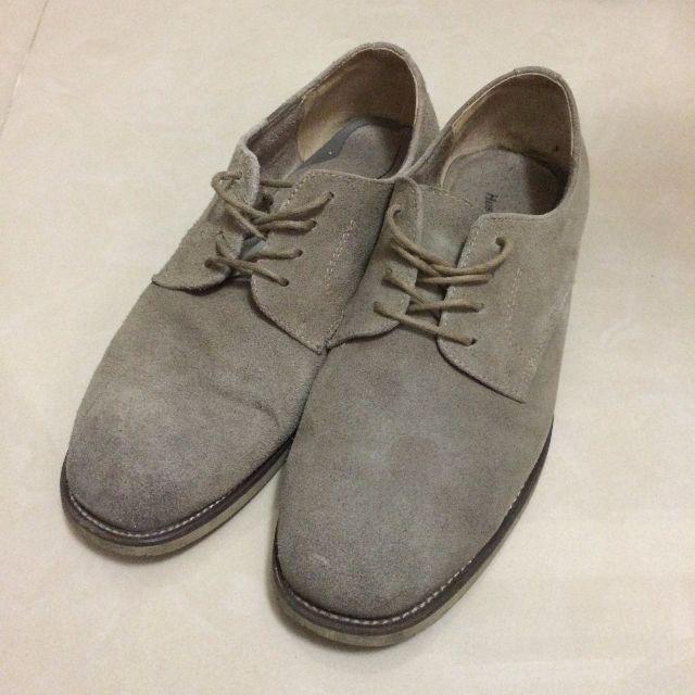 Hush puppies 麂皮沙漠靴休閒鞋 UK8.5 US9.5W 28CM