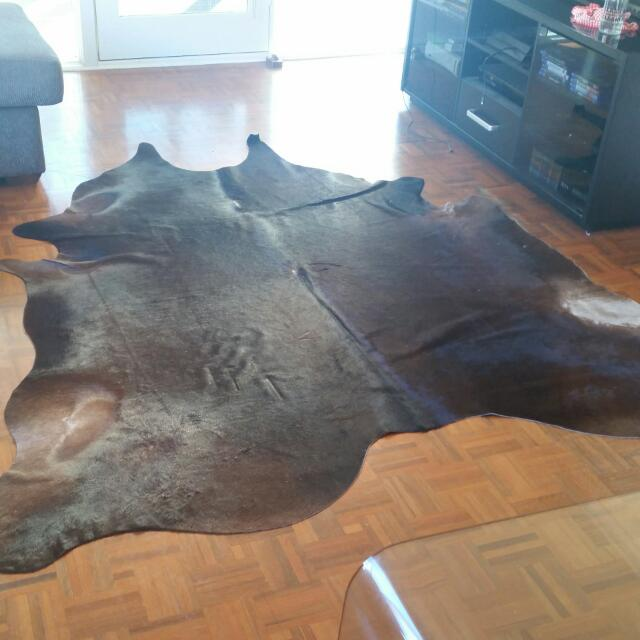 IKEA Cowhide Rug. Brown. KOLDBY