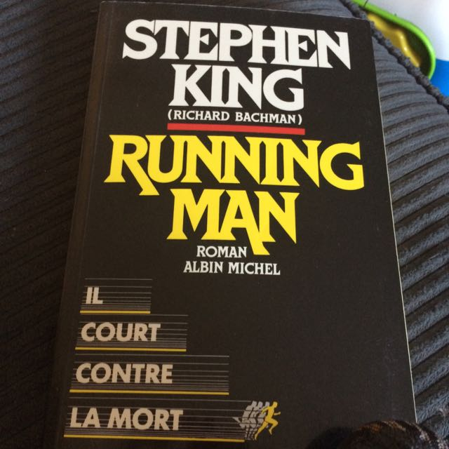 livre stephen king running man