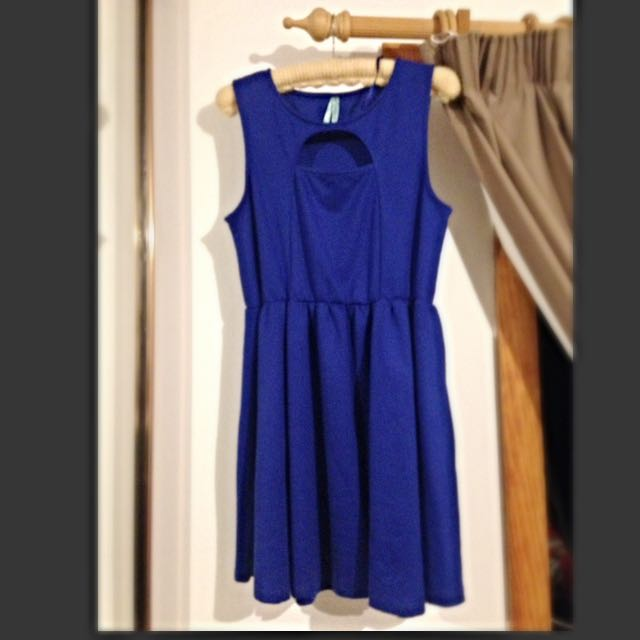 Lushous Blue Dress