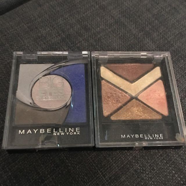 Maybeline Eyeshadow X2