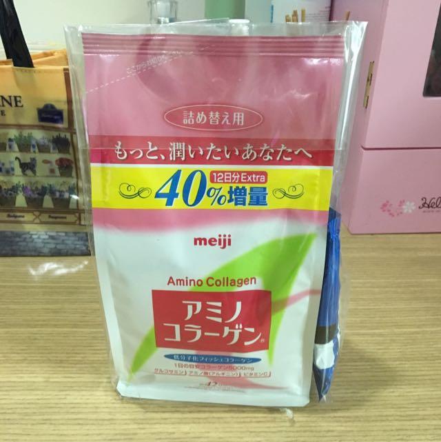 保留中)Meiji明治膠原蛋白42日份加大版補充包