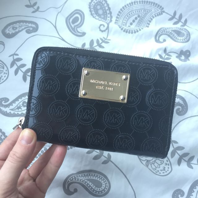 Michael Kors Black Mini Clutch