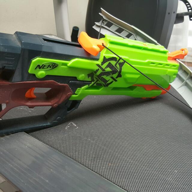 Nerf Toy Gun.