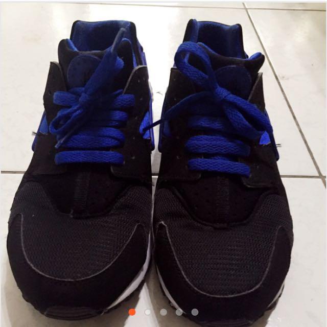 Nike黑藍武士鞋