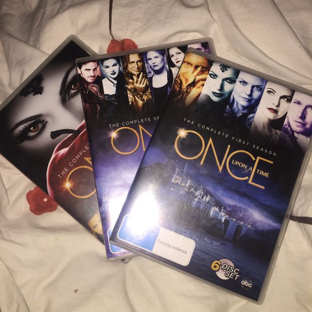 Once Upon A Time S1,2 And 3