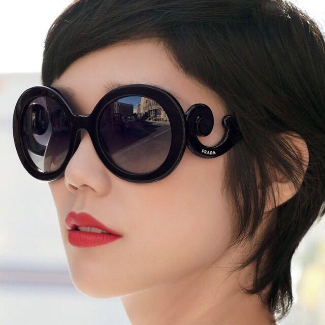 6602b7743fb4 PRICE REDUCED  100% Authentic Prada Baroque Sunglasses