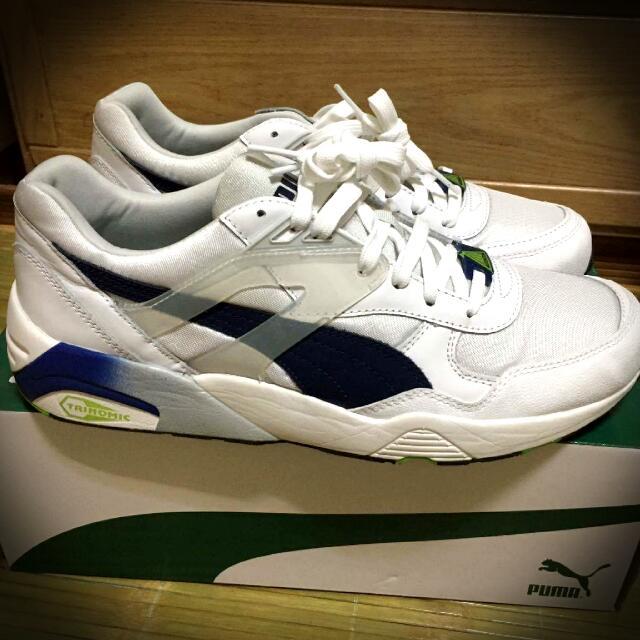 PUMA R698 白藍綠 夏日配色 實惠好鞋 US9.5