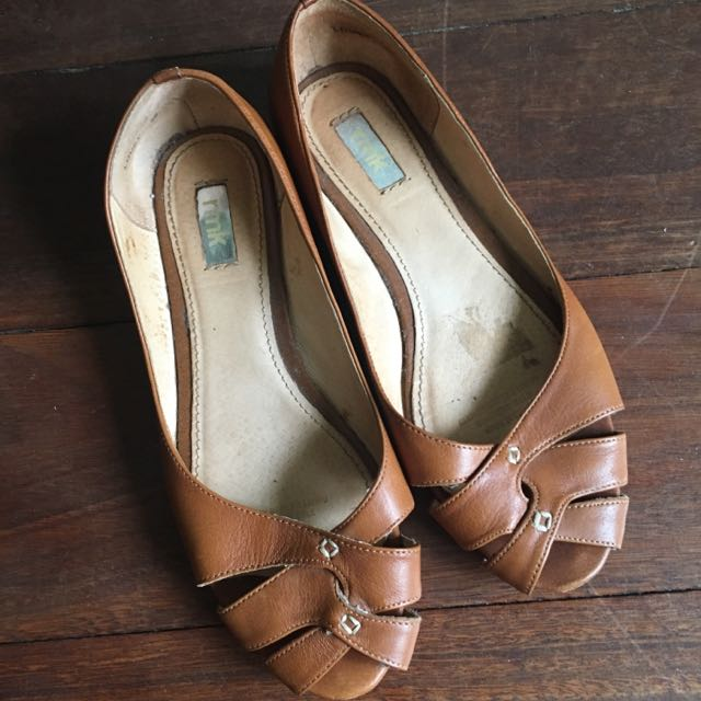 RMK Leather Flats
