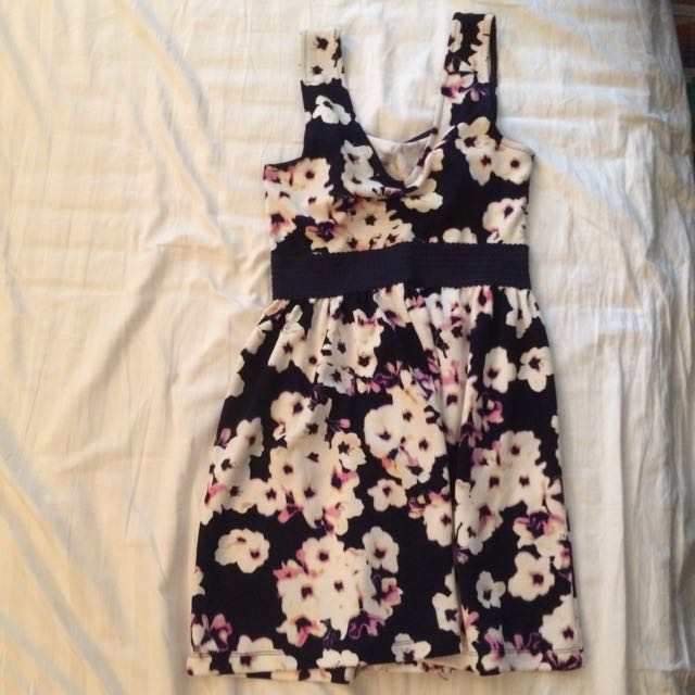 Size Medium Floral Dress