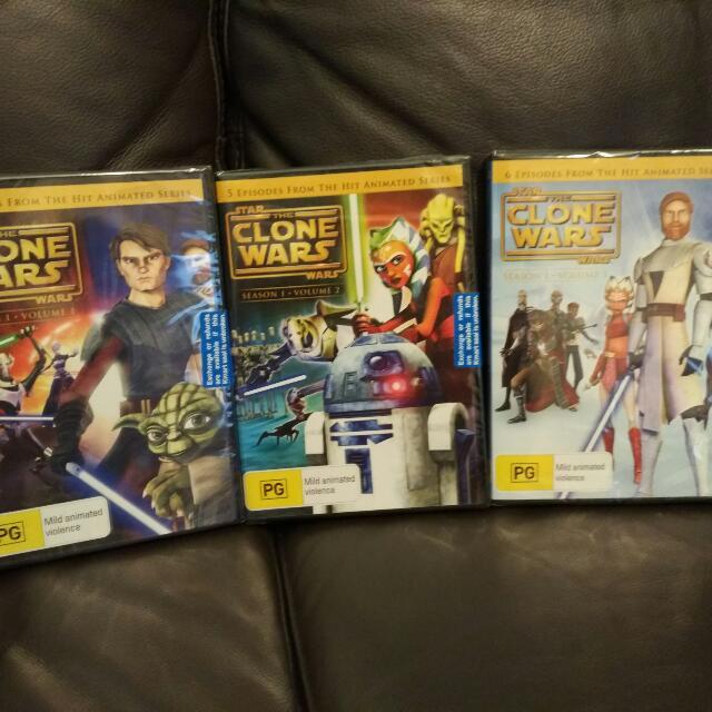 Star Wars - The Clone Wars DVD Set