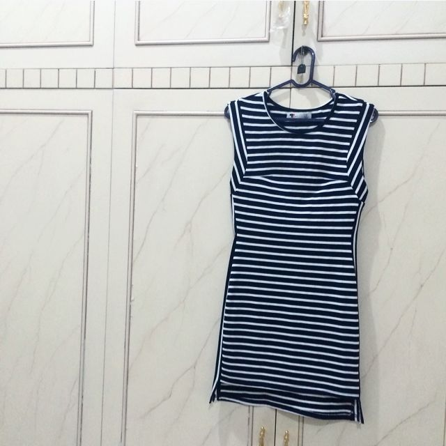 Stripes Mini Dress
