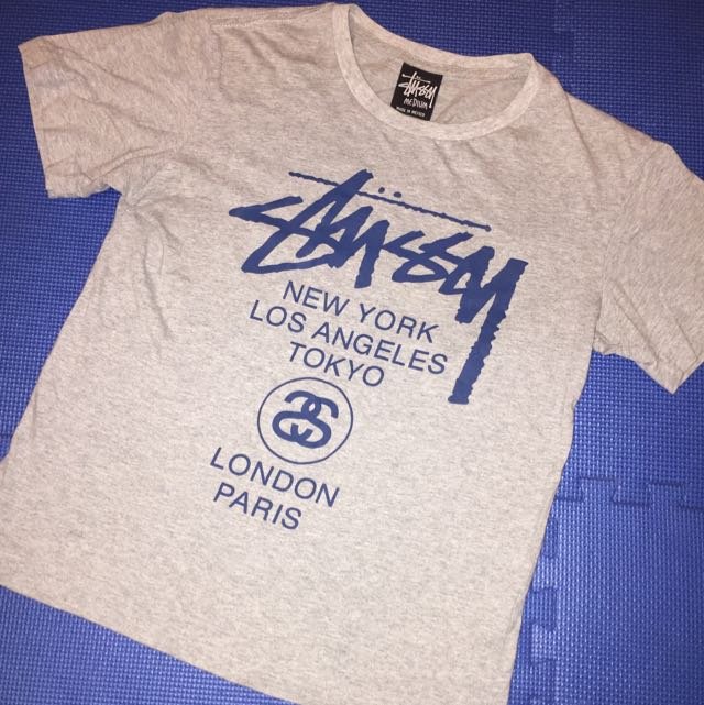 Stussy Womens T-shirt (CLOT collaboration) limited edition