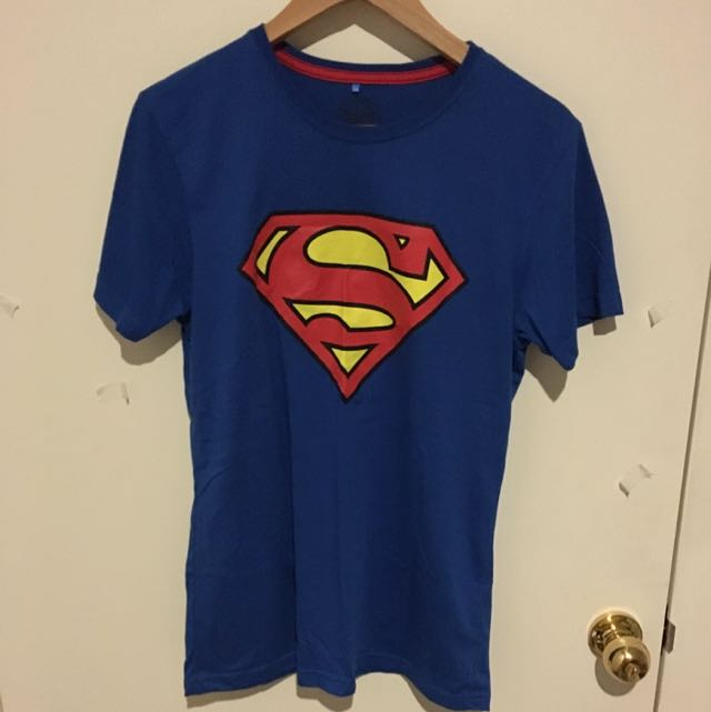 Superman DC Size S Blue T Shirt