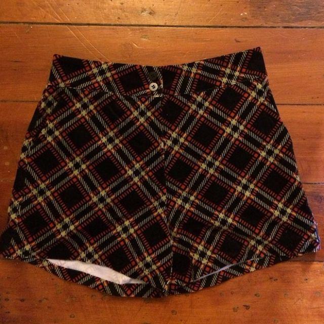 Tartan Princess Highway Shorts